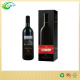 Offset Printing Carton 750ml Bouteille Red Wine Boîte d'emballage avec couvercles (CKT-PB-29)