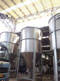 Промышленный материальный смеситель 15000kg для пластмассы сделанной из нержавеющей стали
