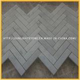 Естественная мозаика травертина/мраморный каменная для стены ванной комнаты, плиток пола