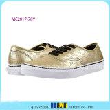 新しいデザイン防水金の偶然靴