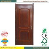 Дверь PVC двери PVC туалета двери PVC Pintu нутряная