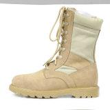 軍隊はブート、砂漠の軍隊の戦闘用ブーツをたたく