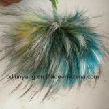 Aangepaste Raccoon Fur Pompom Fake Fur