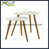 단단한 나무 오크 소파 작은 테이블 (의자 옆 작은 테이블)