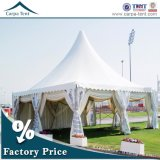 Alto Peak 6X6m Outdoor White Pagoda Tent per il giardino Party