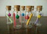 bouteille du liège 7ml et fiole en verre