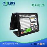 Кассовый аппарат для стержня POS все двойного экрана электронный в одном PC