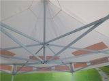 De op zwaar werk berekende Gemakkelijke Handel van de Reclame van de Vorm van de Hexuitdraai toont Tent