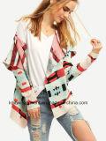 Maglione del cardigan della signora Fashion Hot Sales Long dell'OEM