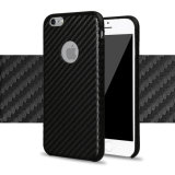 AppleのiPhoneのための2016年の向くCarbon Fiber Cell Phone Case 6 6s