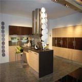 Gabinete de cozinha de madeira original europeu do estilo