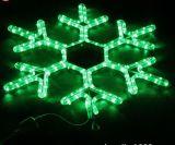 3D LEDのクリスマスの装飾のための屋外の雪片ライト