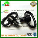 工場製造者のカスタム黒い酸化物の鋼鉄クイックリリースの吊り鎖の旋回装置
