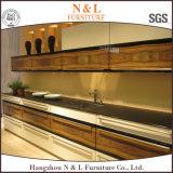 N & l роскошная самомоднейшая кладовка твердой древесины мебели кухни