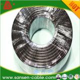 Cabo distribuidor de corrente com a tela Sheathed PVC flexível (cabo de RVVP) protegendo o fio