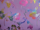 Tissu coloré de polyester d'impression de transfert thermique de fleurs d'Oxford 600d