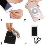 De draagbare Draadloze Lader van de Batterij van de Telefoon van de Lader USB Qi Aanleidinggevende Mobiele voor Smartphones