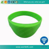 Wristbands impermeables del silicón NFC Ntag213 RFID