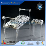 Factory Supply Cheap Price Chaise acrylique transparente pour salle à manger