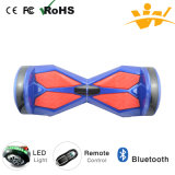 2016 8inch Balancing Electric Scooter com Bluetooth e diodo emissor de luz Light