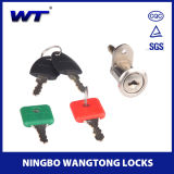 Fechamento superior da gaveta da mesa de escritório da chave mestra da liga do zinco da segurança de Wangtong