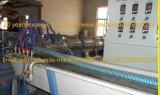 Linha de produção espiral maquinaria da tubulação do PVC