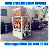 Máquina de fatura de tijolo do bloco da tecnologia de Alemanha da maquinaria de Fuda