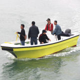 Heißes Sale 22 ' Cheap Fiberglass Fishing Boat mit Cer Certification