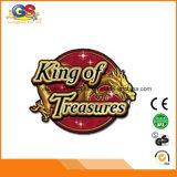 Alto rey del cazador del dragón del asimiento del porcentaje del beneficio 20%-100% de la consola del juego de los tesoros