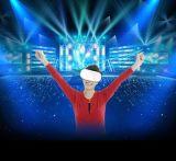Glace de Vr avec le virtual reality sec en verre 3D de Headstrap