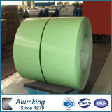 PE/PVDF/Feve Color Cated Aluminium Coil per Roofing