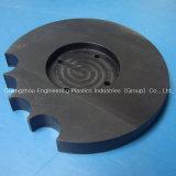 Fertigung maschinell bearbeitete Nylon-Plastikunterlegscheibe der Unterlegscheibe-PA66