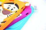 モンスターSulleyかHTC D610のための猫またはトラ3Dのシリコーンの漫画の携帯電話の箱