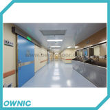 Puerta deslizante hermética patentada del hospital del producto Qtdm-4
