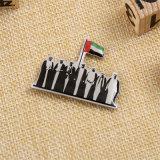 Distintivo su ordinazione dell'oro dell'argento del metallo per i UAE