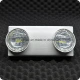 illuminazione Emergency della PANNOCCHIA LED Twinspot di 120min 2*3W