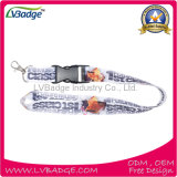Custom Cell Phone Accessories Logo imprimé Lanyard
