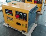 2kw/2kVA-10kw/10kVA 공기에 의하여 냉각되는 침묵하는 디젤 엔진 힘 휴대용 전기 발전기