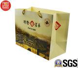 Modèle de papier de sac de cadeau personnalisé par type neuf pour l'empaquetage