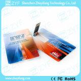 Cartão de crédito personalizado para impressão a cores 8GB USB Drive (ZYF1825)