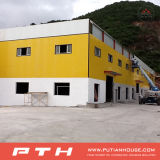 Edificio modular del panel de pared de emparedado del EPS