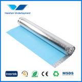 Wood Floor를 위한 Damp Proof Membrane를 가진 높은 Quality Floor Underlay