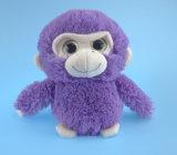 紫色の柔らかいプラシ天猿のおもちゃ