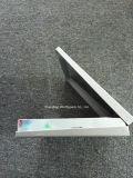 Rectángulo plegable del chocolate, papel de plata cubierto con la tarjeta gris