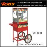 Carro da mão para a máquina Vc-300 da pipoca