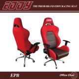 Het Kantoormeubilair van Eddy Racing Seat Office Chair Met de Steun van het Ijzer in Zwarte, Rode of Blauwe Stof