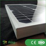 Малая панель солнечных батарей Size с панелью солнечных батарей фотоэлемента 18V Grade с Alloy Frame