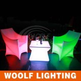 LED 플라스틱 PE 결혼식 의자