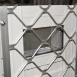 Het Venster van het Aluminium van de goede Kwaliteit met Roestvrij staal Buglar Netto Kz121