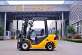 Un 2.5t 2500kg Yellow Diesel Forklift with Chinese Xinchai A498 Engine and Triplex 7.0m Mast (CPCD25)